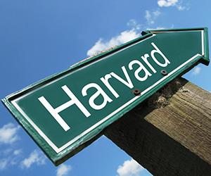 Harvard vägskylt 300