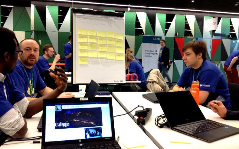SpaceApps Challenge in Lindholmen Campus