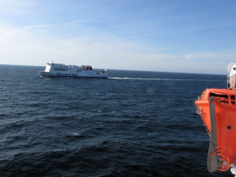 The Stena Line ferry, few hours and you'll be across the sea into Denmark