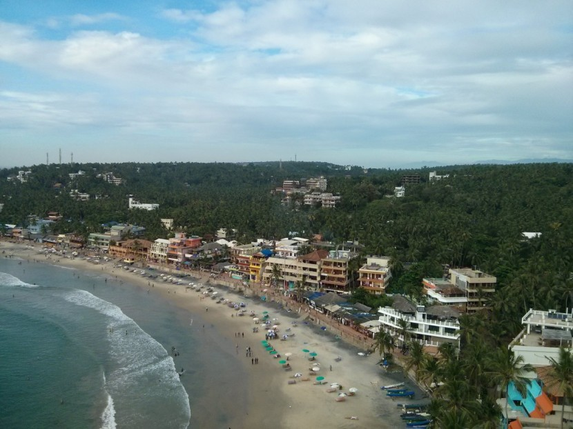 Just for the sake of completion about my travel to India, the picturesque Kovalam in Kerala. Met quite a few Swedes there-more than I, they were thrilled to meet someone studying in Goteborg ;)