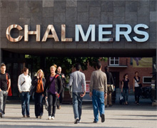 Chalmers; a fine placing to study for aspiring engineers