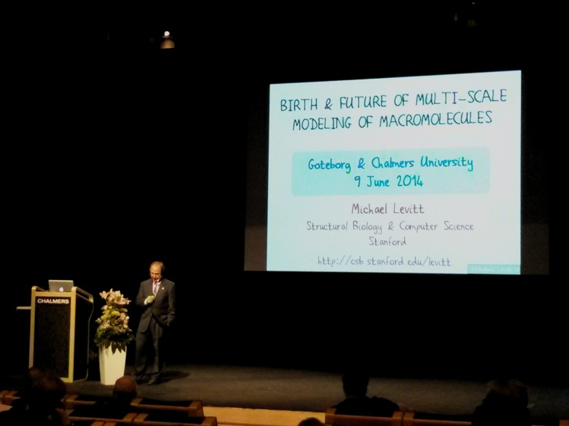 Nobel Laureate in Chemistry Michael Levitt at Chalmers