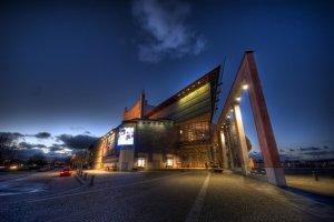 Gothenburg Opera: A splendid view at night