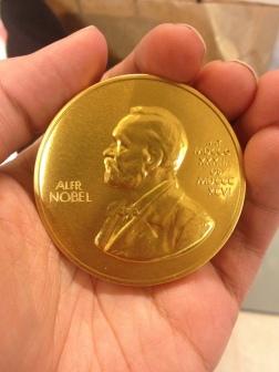 Nobel chocolate. Hopefully an intelligence-confering sweet?